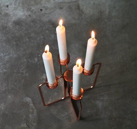 Be&livin Quartet-kynttilänjalka