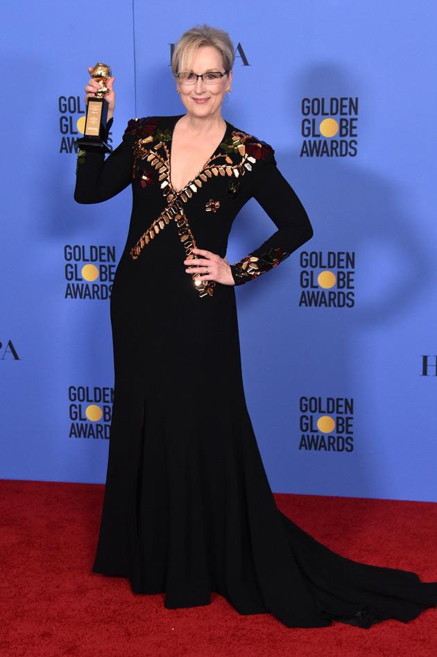 Meryl Streep Golden Globe 2017