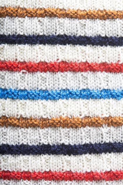Vauvan raidallinen toukkapussi Kotiliesi käsityöt