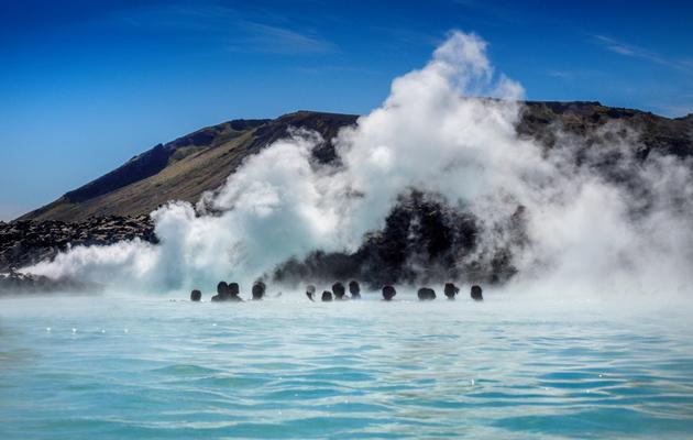 kuuma lähde islannissa