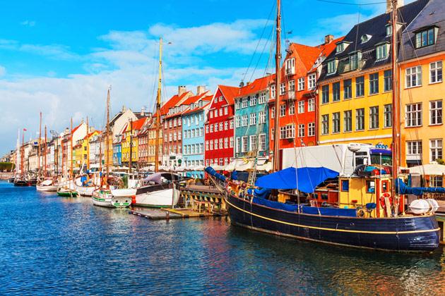 kööpenhamina on suosittu kaupunkilomakohde
