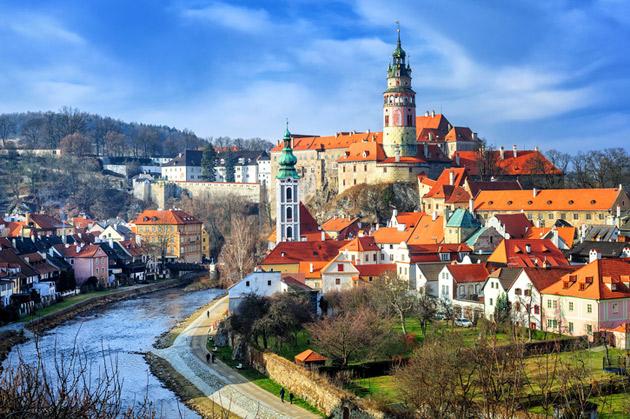 Praha on vanha kulttuurikaupunki