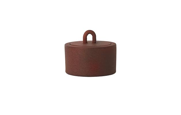 Ferm Livingin buckle jar näyttää ruosteiselta.