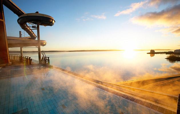 Kylpyläloma Ahvenanmaalla