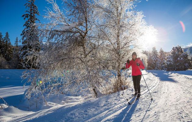 Talviloma on ulkoilijan parasta aikaa.