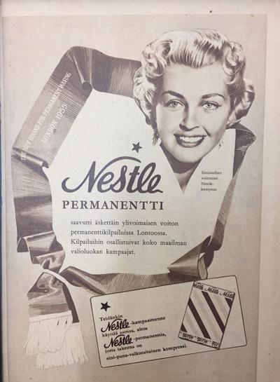 Nestle voitti Lontoon permanenttikilpailun