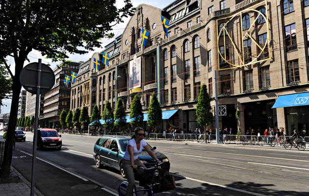 Monarkian vaikutus näkyy Ruotsin pääkaupungissa kaikkialla