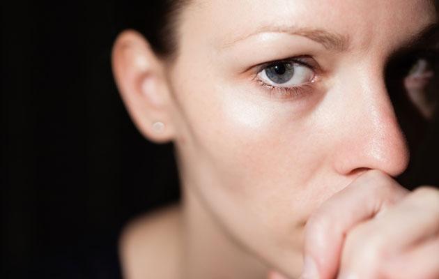 stressaava nainen
