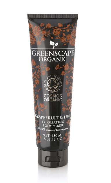 Greenscape Organic Grapefruit & Lime -vartalonkuorinta