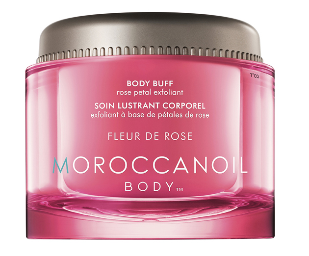Moroccan Oil Body Buff Fleur de Rose -vartalonkuorinta