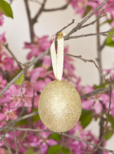 Pääsiäinen, askartelu, glitter, kananmuna, muna, ohje, koriste