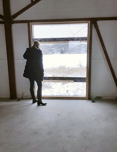 Mikkeli asuntomessut 2017, minunVALO rakennusvaiheessa