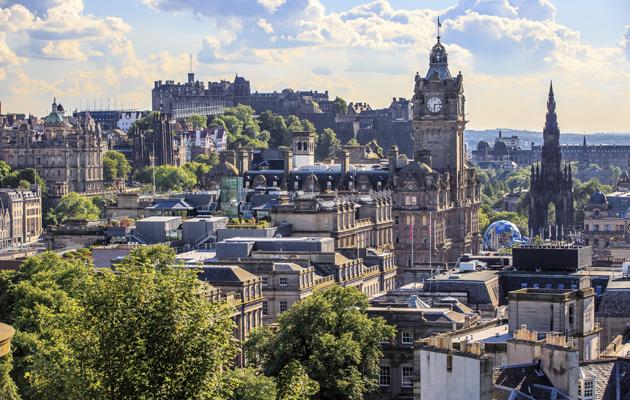 Kuva - Skotlanti – näe automatkalla Edinburgh, nummimaisemat, Loch Ness ja linnarauniot