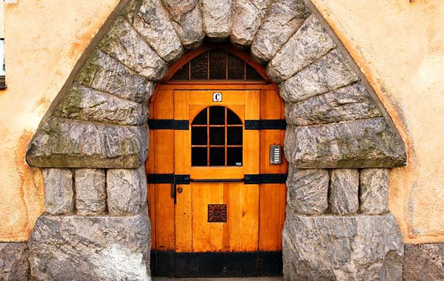 Jykevä Jugend-ovi