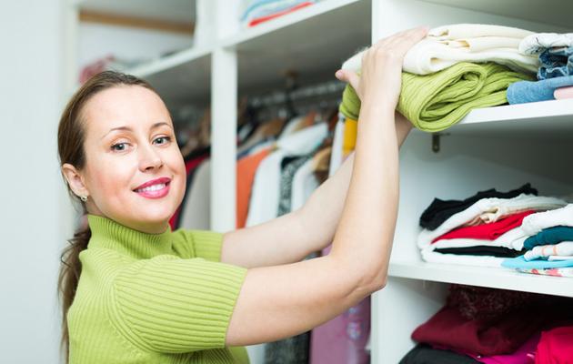 Koti siistiksi ja tavarat järjestykseen.