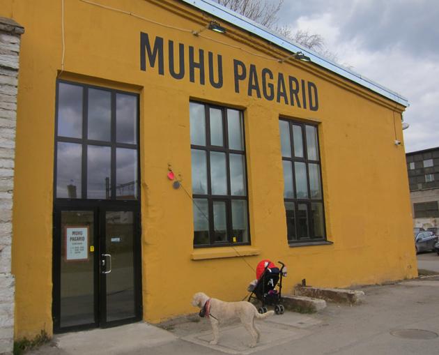 Muhu Pagarid -leipomo Telliskivessä Tallinnassa
