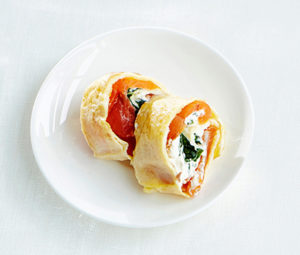 omeletti-lohirullat