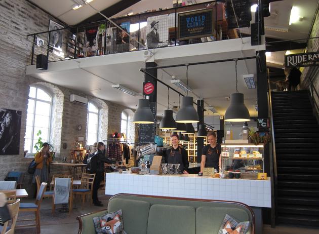 Tallinnan Telliskivi Renard Coffee Shop -kahvila