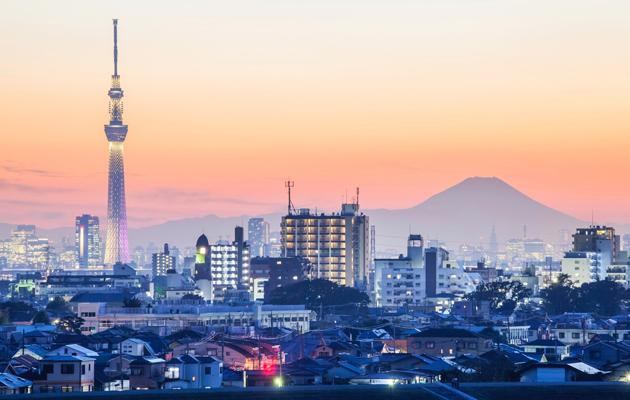 Tokion kaupunkimaisema