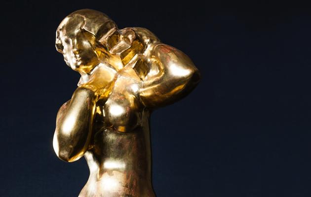 Kultalilja patsas