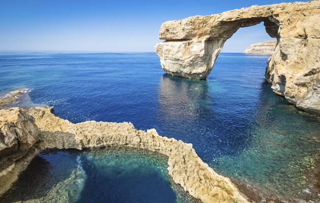 Sininen ikkuna, Gozo, Malta