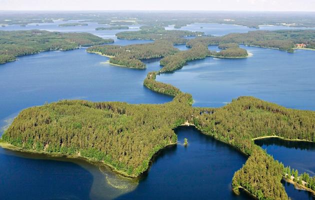 Harju-ja järvimaisema
