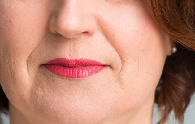 Huulimeikin tekoa, huulipunan levitys