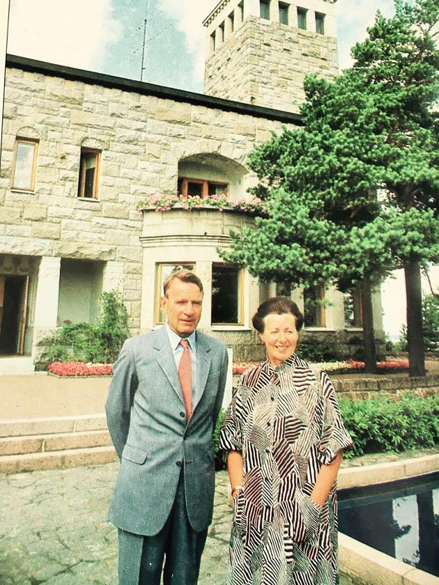 Presidentti Mauno Koivisto antoi Kotiliedelle haastattelun vuonna 1983.