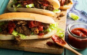 Nyhtökauraresepti: nyhtökaura hot dog