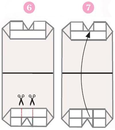origami ohje 6 & 7
