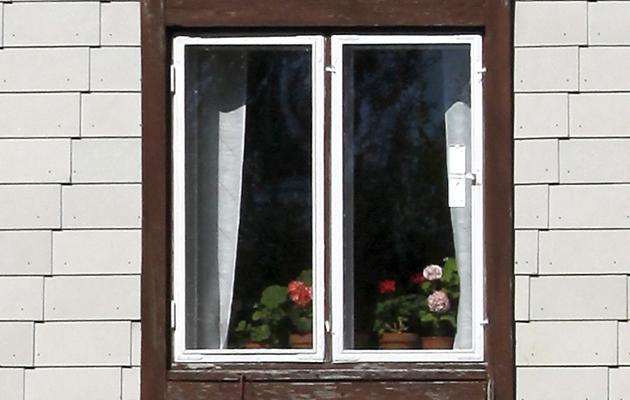 Rintamamiestalon ikkuna