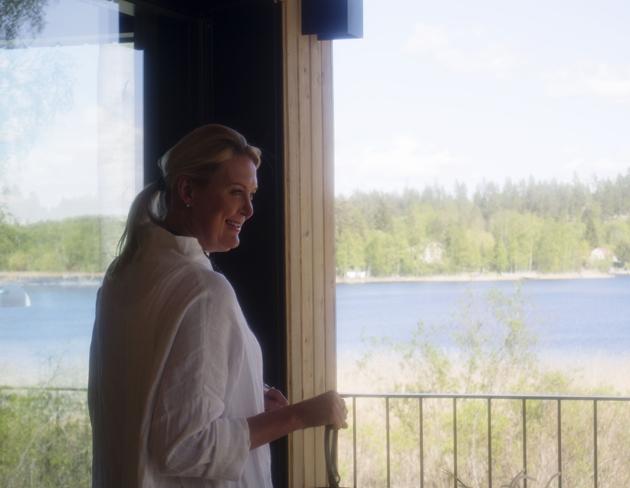 anita koponen, omakotitalo minunVALO MIkkelin asuntomessuilla kesällä 2017