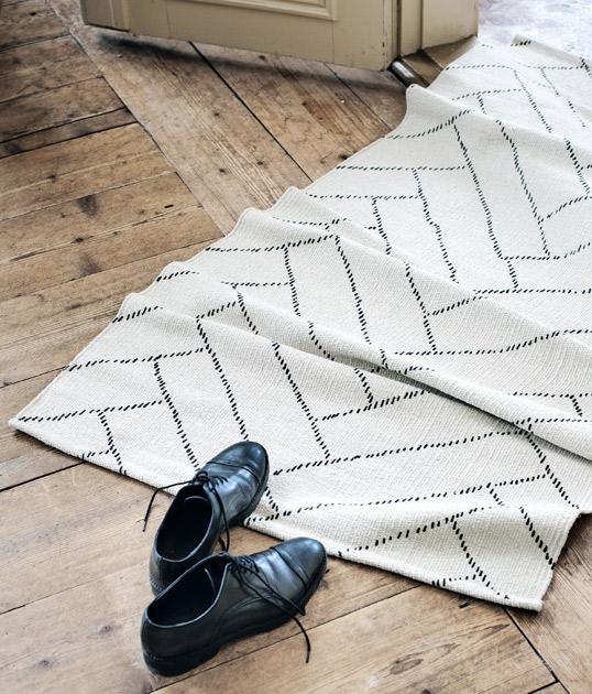 Saanan ja Ollin Finartelle suunnittelema matto