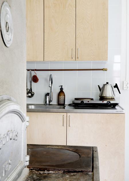 Susanna Vennon mökin keittiö