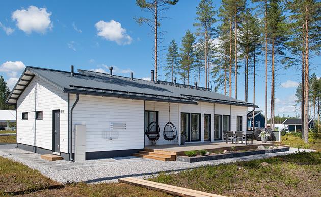 Kastelli City -talo, Mikkelin asuntomessut 2017.