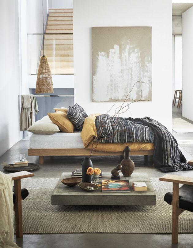 H&M Homen tekstiilit