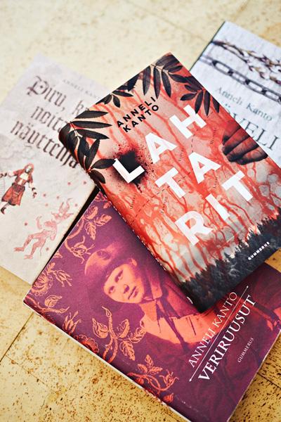 Anneli Kantolan kirjoja