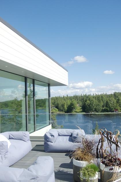 Villa Saimaanhelmi, Mikkelin asuntomessut 2017.
