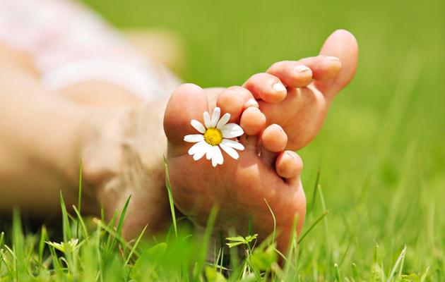 Terveet jalat kesäksi