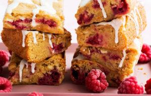Vadelma sopii makeaan leivontaan.