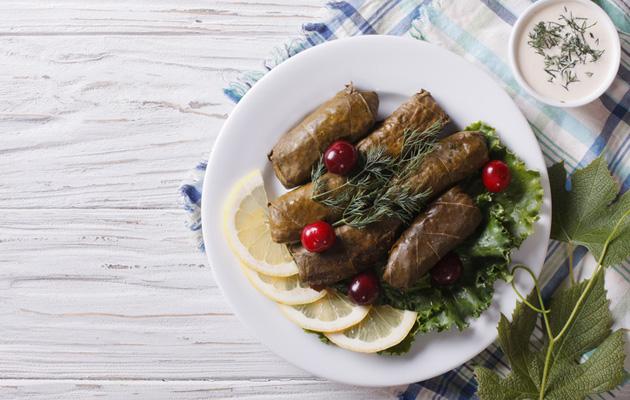 Kreikkalaiset ja italialaiset maut viettelevät.