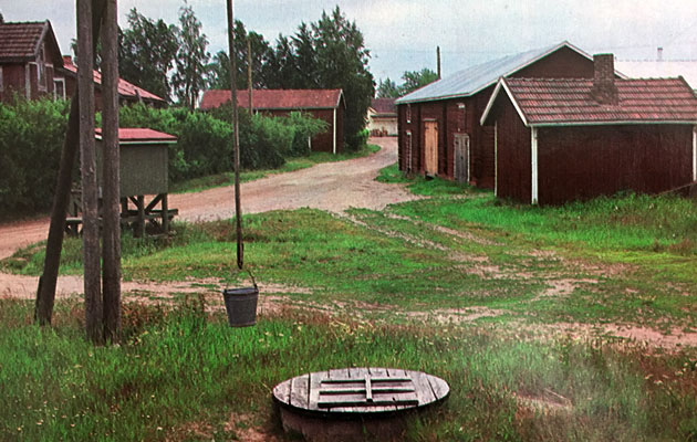 Vanha kylämiljöö