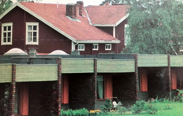 1970-luvulla rakennettiin vierekkäin uutta ja vanhaa
