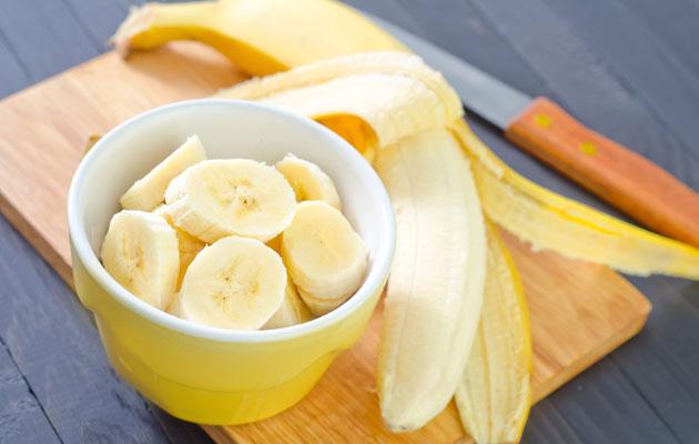 Banaanissakin on sokeria