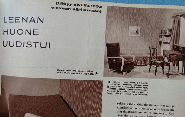 Nostalgiaa vuodelta 1962 Kotiliesi