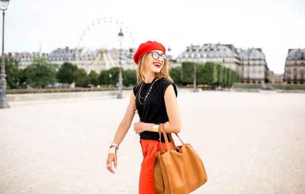 Pariisi on turistin kaupunkikohde.