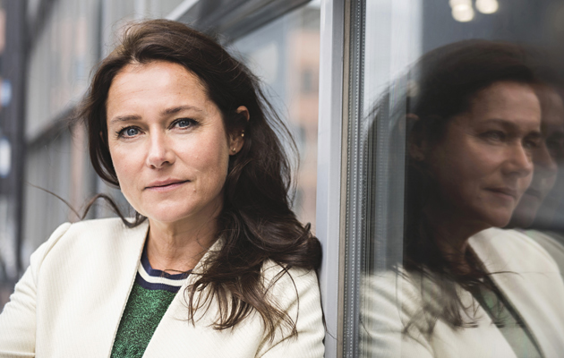 Näyttelijä Sidse Babett Knudsen