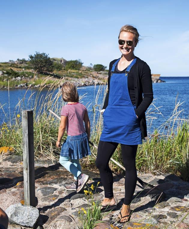 Heini Paasio nauttii elämästä Utössä.