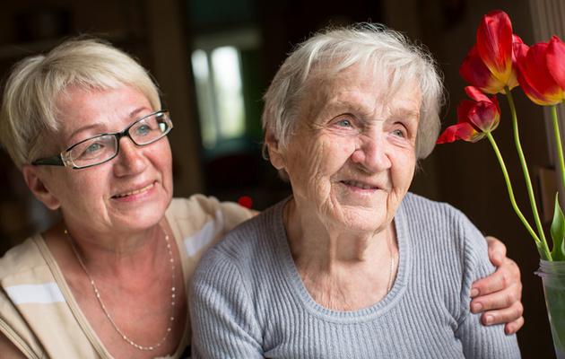 Vanhempi voi tarvita iän myötä apua arkeensa.