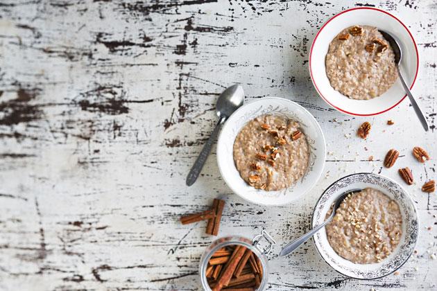 Kaurapuuro on mainio aamiainen tai välipala.